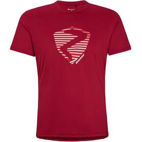 Ziener Nolaf T-Shirt Men, czerwony